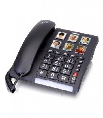 תמונה של טלפון שולחני מותאים ללקויי שמיעה TF540